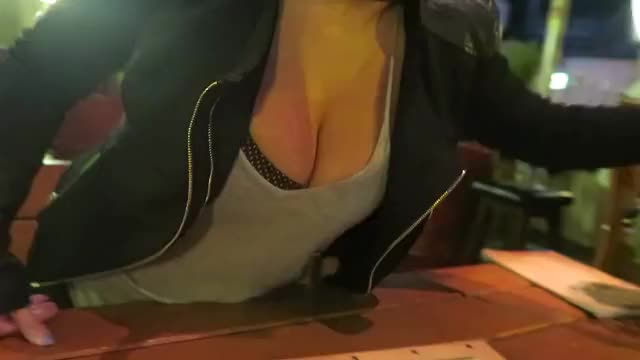 Watch and share Cleavage GIFs on Gfycat