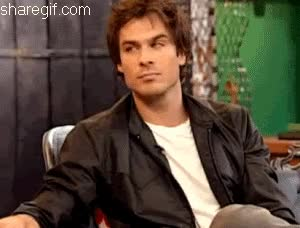 Watch and share Ian Somerhalder GIFs and Head Nod GIFs on Gfycat