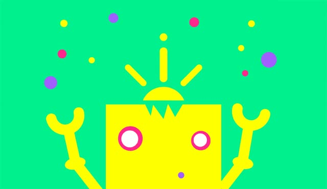 Watch and share Robot Illustration GIFs on Gfycat