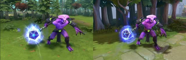 Watch and share Mace Of Aeons Effects Comparison (2016 And 2019) GIFs by Arhase on Gfycat