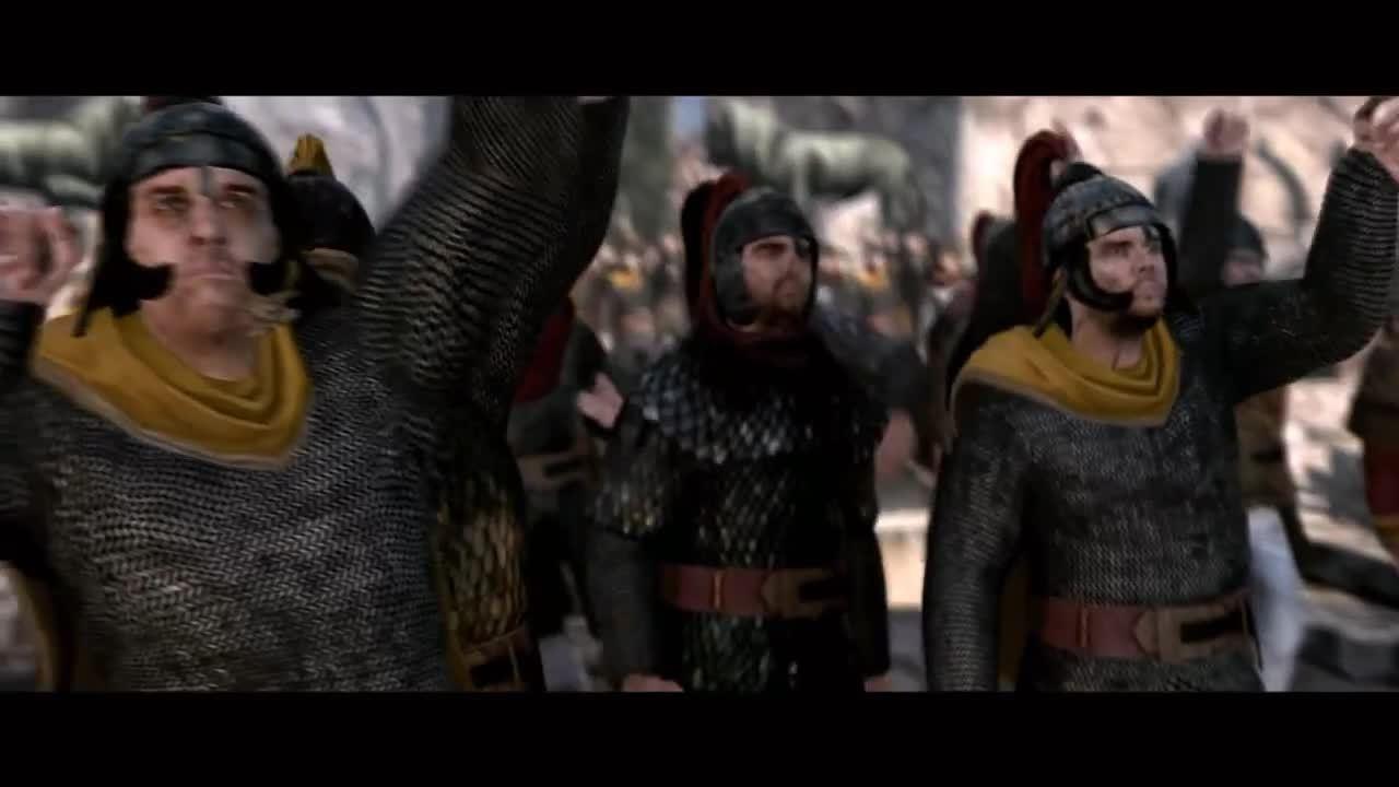totalwar, Total War: Attila | The Last Roman Cutscene | Roman Expedition Victory (reddit) GIFs