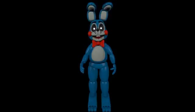 Watch and share Toy Bonnie Walking Animation GIFs on Gfycat