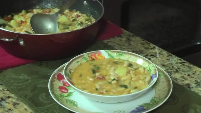 Watch Cuban Caldo Gallego - Galician White Bean Soup GIF on Gfycat. Discover more asopao, coquito, pastelon GIFs on Gfycat