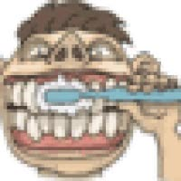 Watch and share Brushing Teeth animated stickers on Gfycat