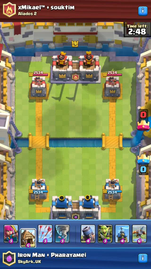 Watch Clash Royale - 2vs2 GIF on Gfycat. Discover more ClashRoyale, clan, clash royale GIFs on Gfycat