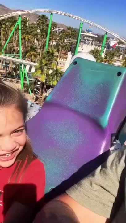 Watch and share Five-year-old-gets-terrified-and-regrets-going-for-roller-coaster-ride GIFs by Nothing on Gfycat
