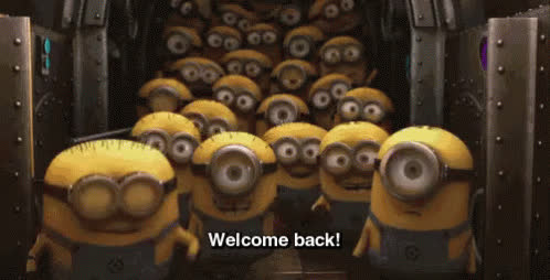 welcome, welcome back, welcome home, welcomeback, welcomehome, Welcome Back GIFs