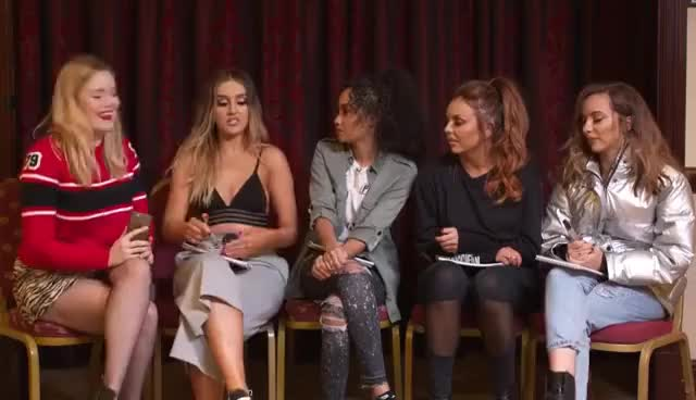 Watch Little Mix ASOS Interview 2016 GIF on Gfycat. Discover more related GIFs on Gfycat