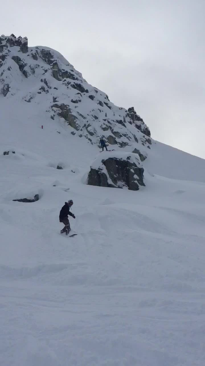mistyfront, snowboarding, Blackcomb's been fun lately (reddit) GIFs