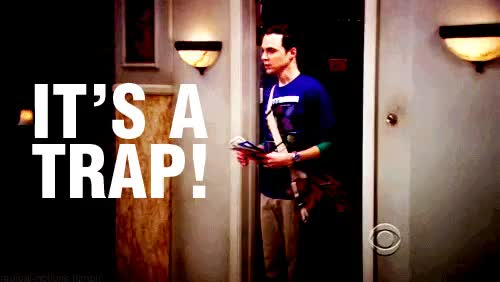 Watch and share The Big Bang Theory GIFs and Its A Trap GIFs on Gfycat