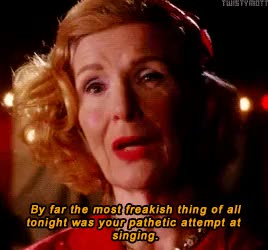Watch and share Constance Langdon GIFs and Frances Conroy GIFs on Gfycat