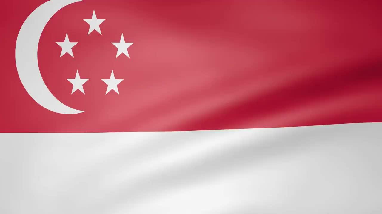 Singapore, Singapore Animated Flag GIFs