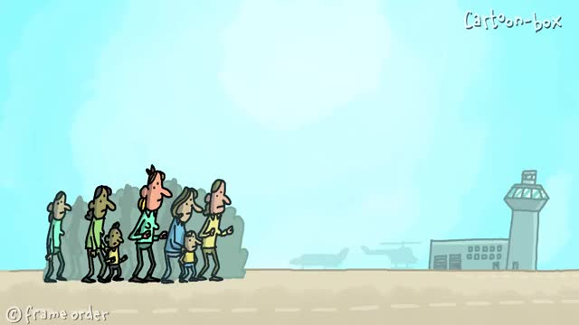 Watch Welcome Home | Cartoon-Box 67 GIF by @aggressor on Gfycat. Discover more Welcome Home, cartoon box, marriage fail, marriage proposal, proposal fail, returning from war, returning home, soldiers returning home, surprise, wedding fail GIFs on Gfycat