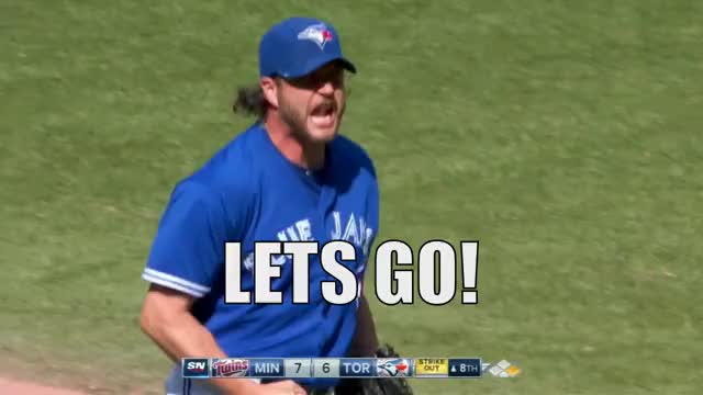 Watch and share Toronto Blue Jays GIFs and Lets Go GIFs by efitz11 on Gfycat