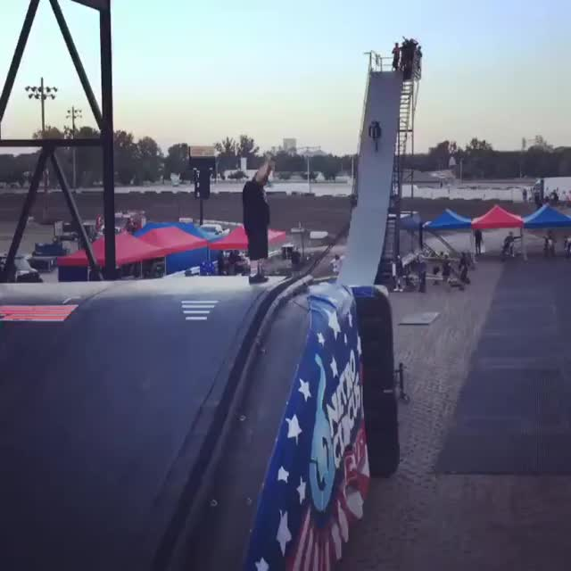 Watch and share Ryan Williams Doing A Triple Backflip GIFs by mossberg91 on Gfycat