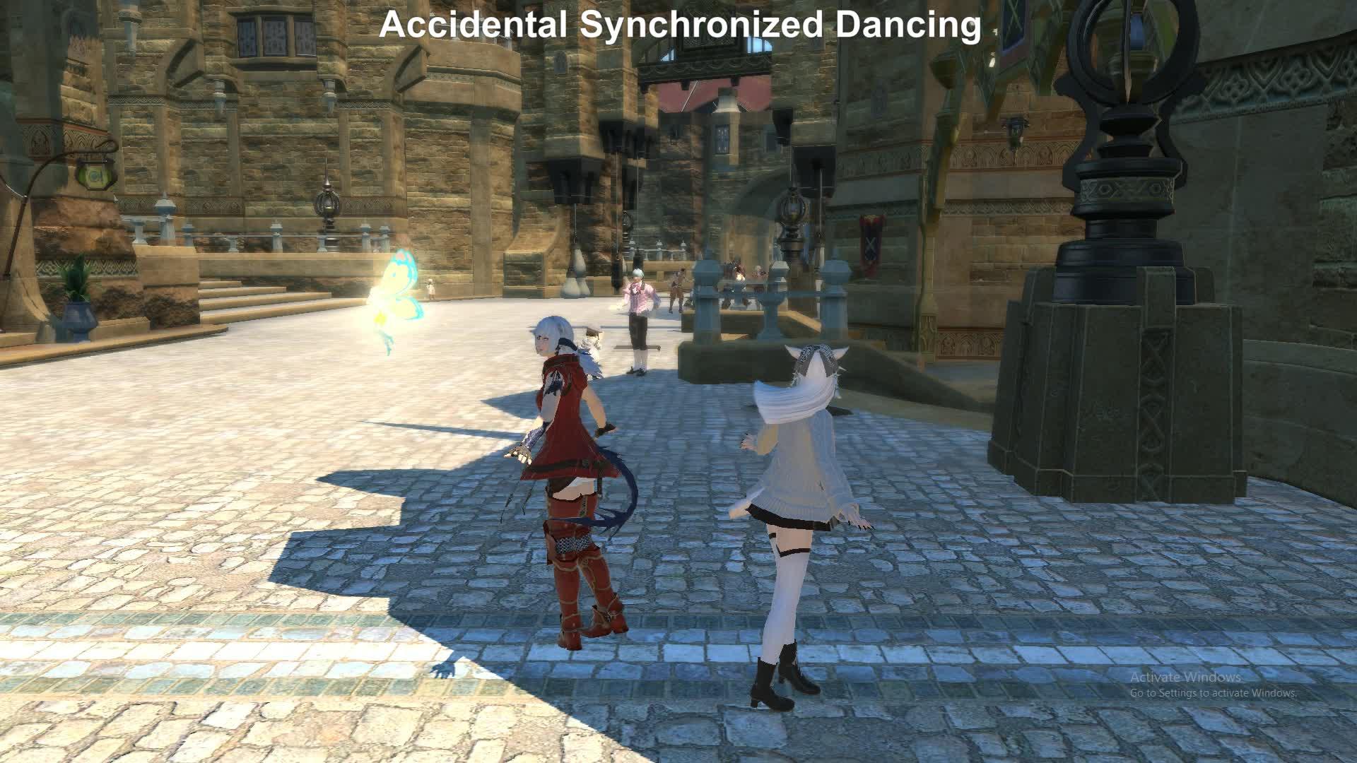 FFXIV Dancing GIFs