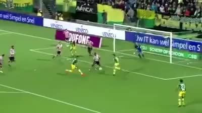 Sparta Rotterdam Keeper Roy Kortsmit makes 4 amazing saves in a row GIFs