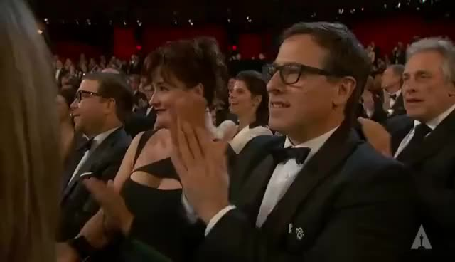 "Watch and share Spike Jonze Winning Best Original Screenplay For ""Her"" GIFs on Gfycat"