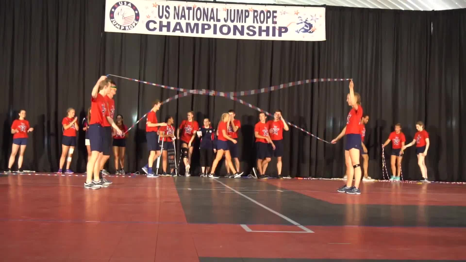 2018, Film & Animation, WeJumpRope Music Videos, grand nationals, jump rope, usajr, wejumprope, blindfolded double dutch GIFs