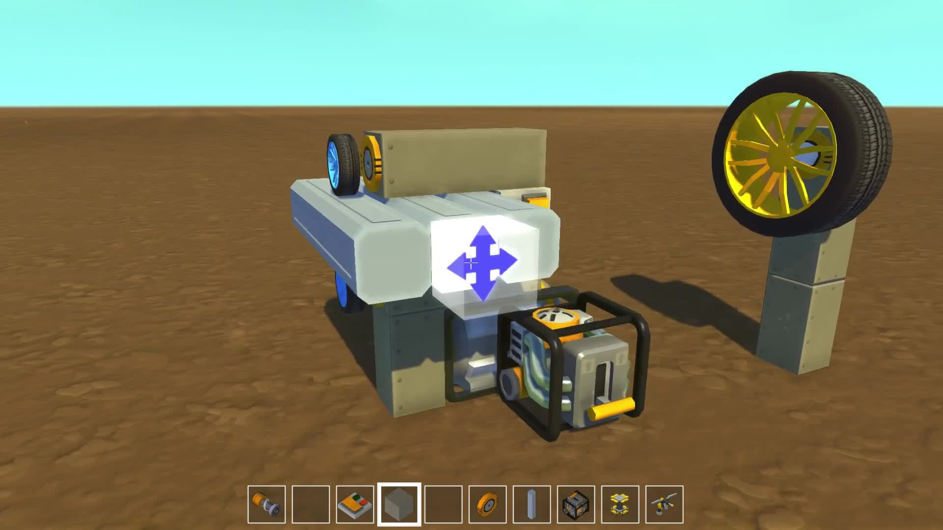 scrapmechanic, Tiny Wheels GIFs