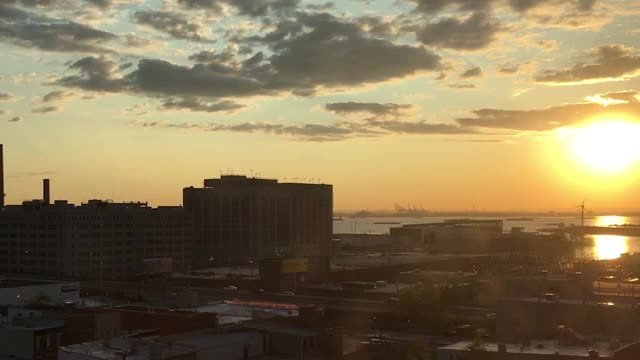 Watch and share Brooklyn Sunset GIFs by josephkw on Gfycat