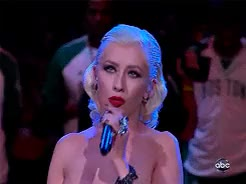 Watch Christina Aguilera GIF on Gfycat. Discover more National Anthem, SOO BEAUTIFUL, aguilera, bionic, bionic era, christina, christina aguilera, gif, mystuff, xtina, xtinagifs GIFs on Gfycat