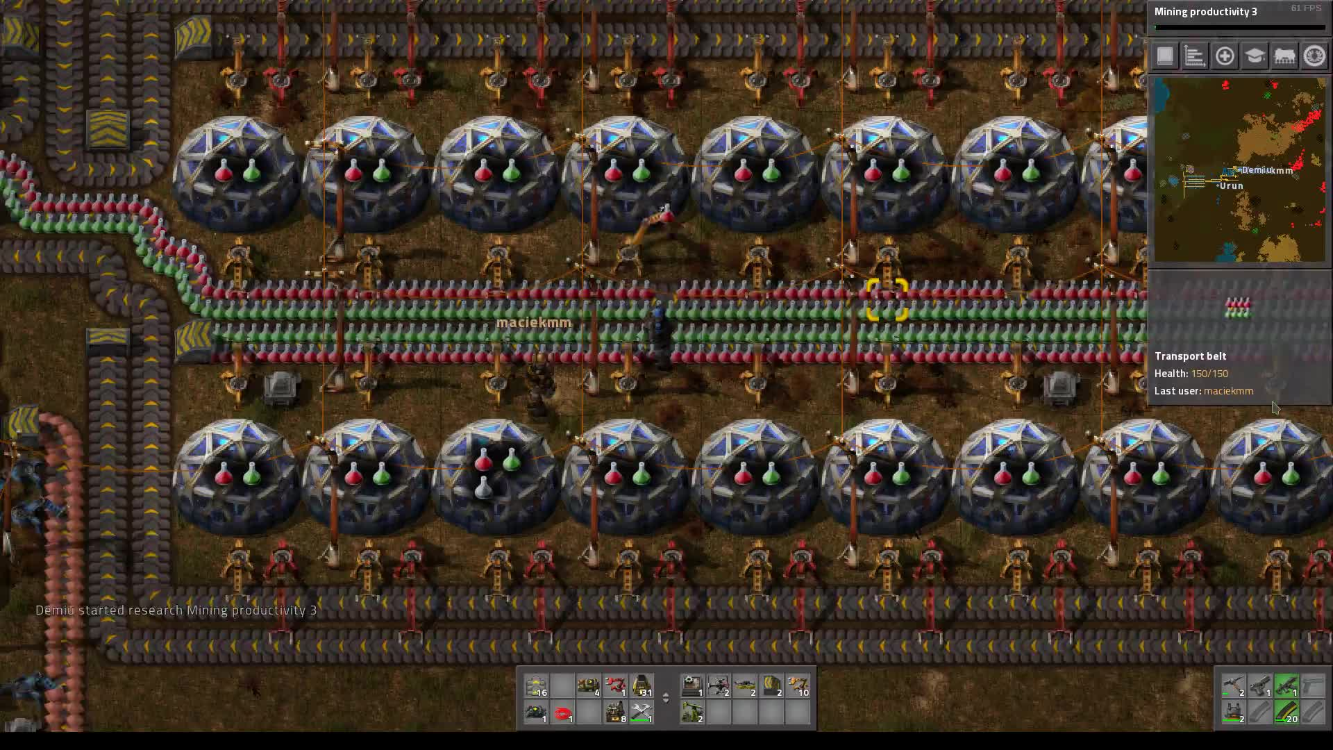 Factorio belts GIFs