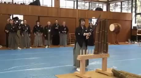 Katana use Noob Vs Pro - gif