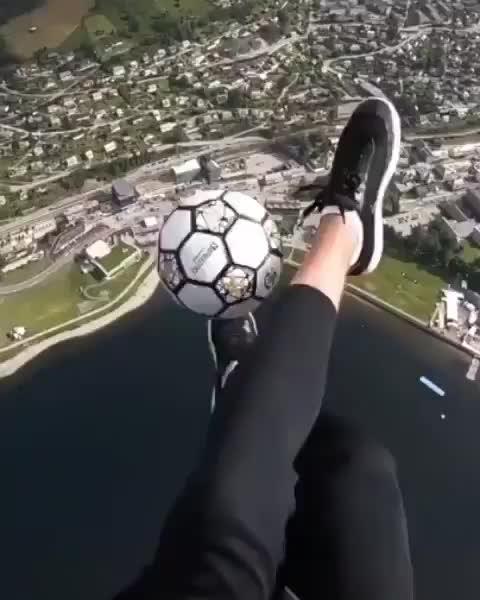 Watch and share Soccer Juggling On A Different Level GIFs by tothetenthpower on Gfycat