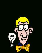 idea, light bulb, think, thinking, thought, idea GIFs