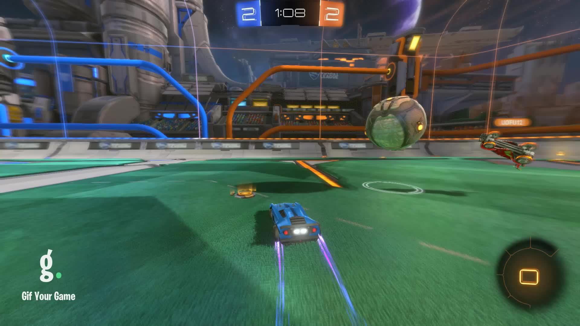 Gif Your Game, GifYourGame, Rocket League, RocketLeague, Goal 5: Gif Your Game GIFs