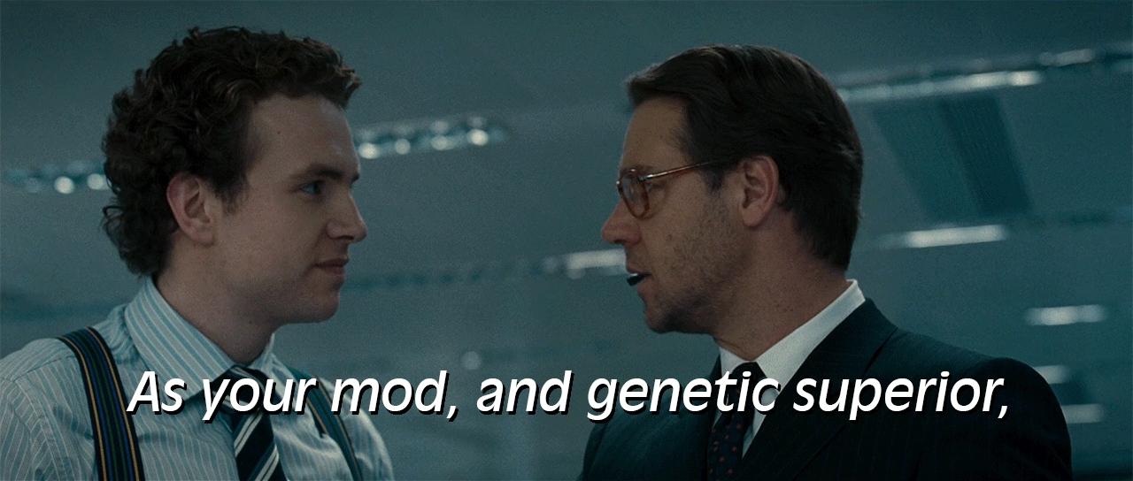 modgifs, 02 - Genetic Superior (Dubbed) GIFs