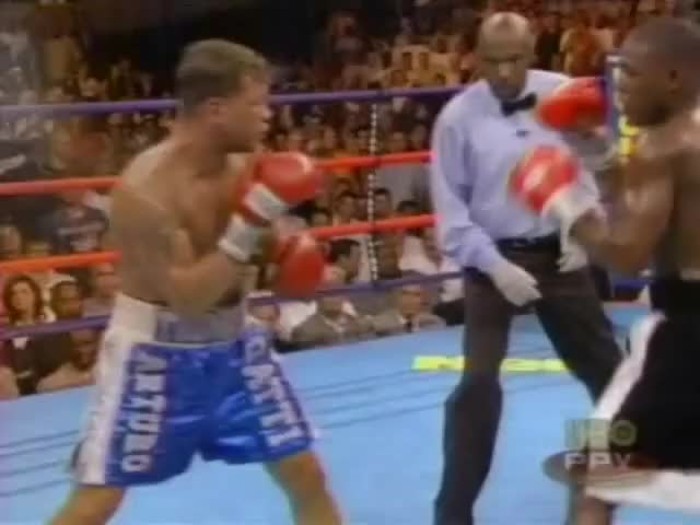 Watch Mayweather vs. Gatti GIF by @xdbotx on Gfycat. Discover more Boxing, boxing GIFs on Gfycat