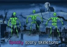Watch and share Spooky Scary Skeletons GIFs on Gfycat