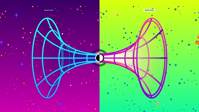 Watch Wormholes Explained – Breaking Spacetime GIF on Gfycat. Discover more Matter, Particle, Star, WORMHOLE, animation, anitmatter, antiparticle, einstein, gravity, kurzgesagt, planet, relativity, singularity, space, spacetime, time, universe, vaccum, wormholes GIFs on Gfycat