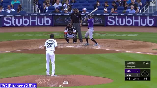 Watch and share Sandy Alcantara GIFs and Baseball GIFs by Pitcher Giffer on Gfycat