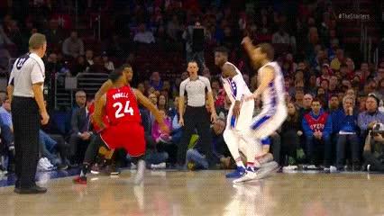 Watch and share Dario Šarić — Philadelphia 76ers GIFs by Off-Hand on Gfycat