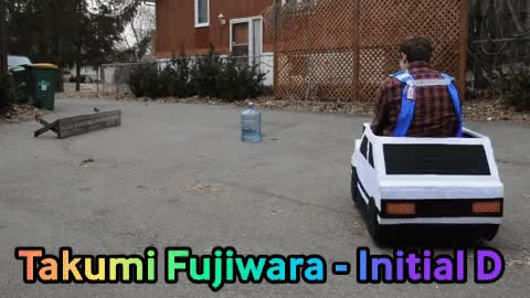 Watch and share Test-driving My AE86 Cosplay (carsplay?) From Initial-D GIFs on Gfycat