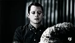 Watch and share I Cant Stop Crying GIFs and Elijah Wood GIFs on Gfycat