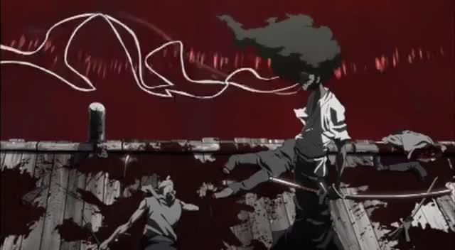 Afro Blood Flood