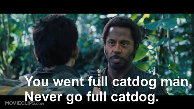 Watch and share Tropic Thunder Clip GIFs and Spoofs And Satire GIFs on Gfycat
