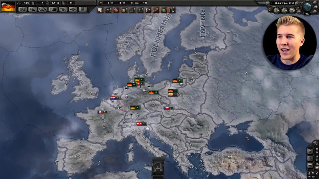 COMMUNISM, Facism, GamePlay, Russia, democracy, hammer, hoi4, ideology, lenin, mao, memes, modding, mods, names, norway, socialism, soviet, sweden, uk, war, All Nations Communist! | Hearts of Iron 4: AI Only Gameplay - HOI4 Mod [COMMUNIST WORLD] GIFs