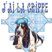 Watch and share Kit Malade Grippe animated stickers on Gfycat