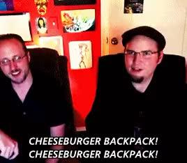 Watch Steven Universe Vlogs: Episode 3 - Cheeseburger Backpack GIF on Gfycat. Discover more cheeseburger backpack, doug walker, parallel, rob walker, steven universe GIFs on Gfycat