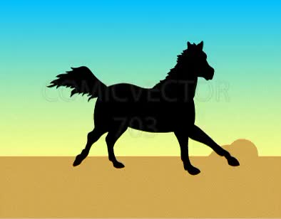 Watch and share Horse Gallop Animation Silhouette GIFs by comicvector703 on Gfycat