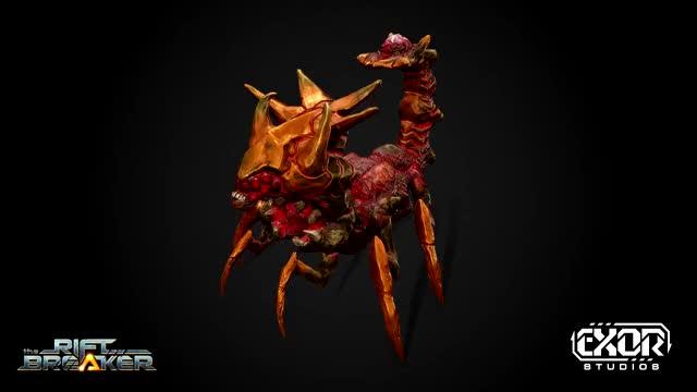 Watch and share The Riftbreaker - Arachnoid Sentinel GIFs by EXOR Studios on Gfycat