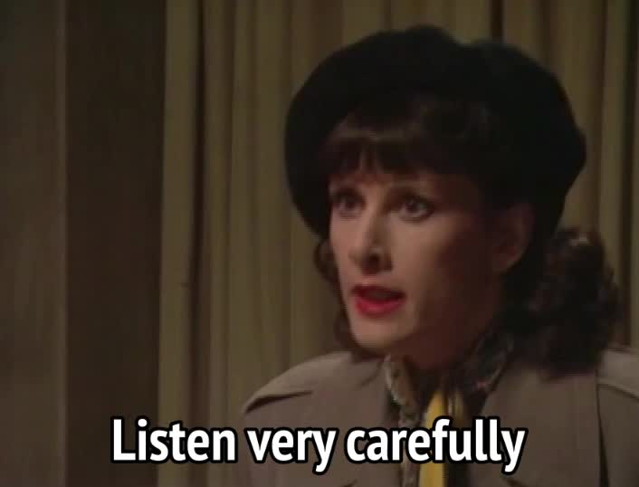 allo allo, allo allo - Listen very carefully, I shall say zis only once GIFs
