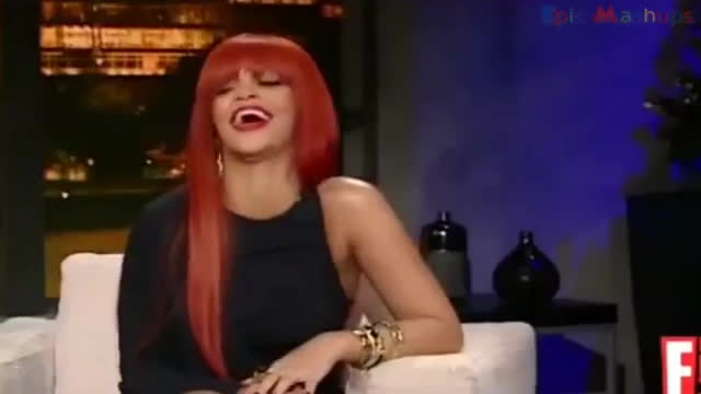 funny interview, humour (tv genre), television (invention), Rihanna LOL GIFs