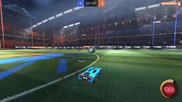 Watch and share Rocket League GIFs and Trickshot GIFs by stevevalle27 on Gfycat