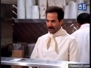 Watch and share Seinfeld SOUP NAZI Best Bits. GIFs on Gfycat